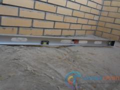Дефект — перепад стяжки составляет до 30мм