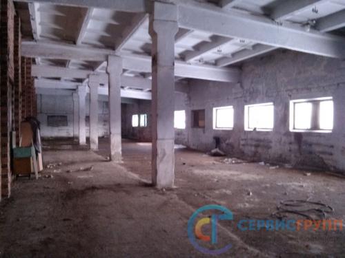Строительно-техническое исследование здания цеха