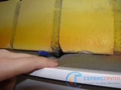 Дефект при монтаже окна (не обжата ПСУЛ)