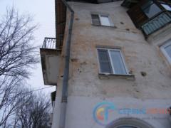 Разрушение по фасаду