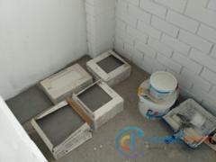 Подготовка к укладке плитки