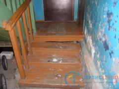 Деформация лестницы