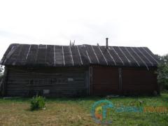 Вид крыши с чердачного помещения
