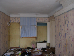 Общее, состояние квартиры. Отсутствие радиаторов, окон