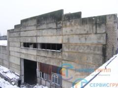 Общий вид стеновых панелей, остекления