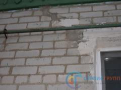 Образования трещин и перекоса построек