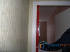 Перекос дверного блока