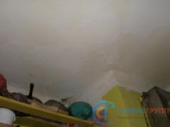 Образование трещин на потолке. Разводы от протечек